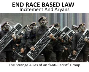 Incitement And Aryans